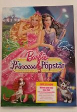 Barbie: The Princess & the Popstar (DVD, 2012)
