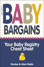 Baby Bargains: Your Baby Registry Cheat Sheet! Honest & Independent Reviews to