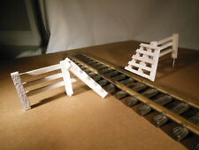 Cattle Guard White G scale
