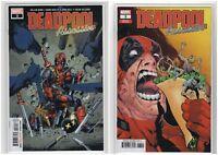 Deadpool Assassin #3 Marvel Comics Regular & Variant Cover (7/10/18 1st Print)