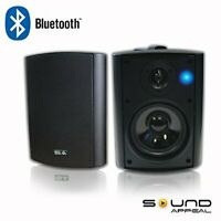 "Bluetooth 5.25"" Indoor/Outdoor Patio Speakers, BT Blast (pair) by Sound Appeal"
