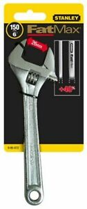 "Stanley Fatmax 0-95-872 150mm 6"" Adjustable Spanner Wrench Tool"