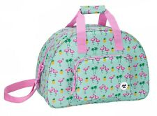 Glowlab Tropic PINK Flamingo Holdall Ladies Weekend Overnight Travel Bag 48 cm