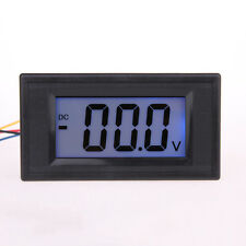US Hot LCD Digital Volt Voltage Panel Meter Voltmeter 7.5V-20V Blue Power Supply