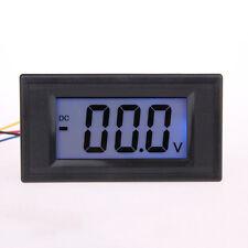 LCD Digital Volt Voltage Watt Panel Meter Voltmeter 7.5V-20V Blue Power Supply