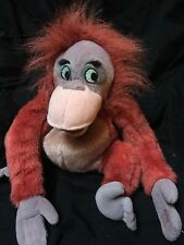 "Disney Store Bean Bag Plush - King Louie - Jungle Book - Orangutan 14"" Doll"