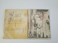 2 JIM DINE Art Books DRAWINGS PACE GALLERY 1990 EXHIBITION & PRINTS 1970- 1977