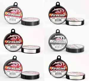 BeadSmith® FireLine Braided Bead Thread Strong Stringing Material * All Colors
