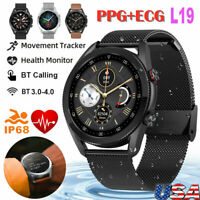 L19 Smart Watch IP68 Waterproof ECG PPG Calling Blood Pressure  for IOS Android