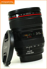 Canon EF 24-105 mm F4 L Manual Focus Seulement objectif IS USM + GRATUIT UK POSTE