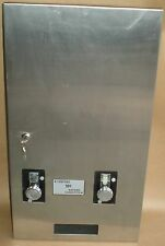 STAINLESS STEEL RECESSED IN WALL SANITARY NAPKIN TAMPON VENDING MACHINE TAMPAX