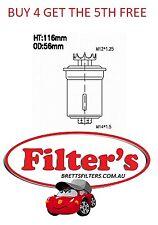 FUEL FILTER FOR LEXUS IS200 GXE10R 2.0L PET 6CYL 1G-FE MPFI DOHC 24V 99-05