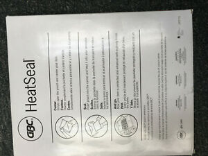 GBC HeatSeal, 5mil, Letter Size Pouches, Genuine, Sealed, New