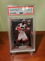 2012-13 Panini Prizm Lebron James Graded PSA 10 PRISTINE Gem Mint First Prizm!