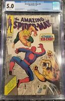 """The Amazing Spiderman # 57  """"Silver Age"""" CGC Graded 5.0  Beautiful book!"""