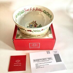 "LENOX Home For The Holidays 8"" Bowl"