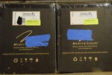 MartinLogan Motion 15 Gloss White Bookshelf Loudspeaker - PAIR
