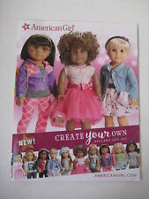 American Girl Create Your Own 2017 CATALOG outfit doll Z Yang Tenney Grant July