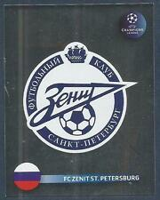PANINI UEFA CHAMPIONS LEAGUE 2008-09- #536-ZENIT ST PETERSBURG TEAM BADGE-FOIL