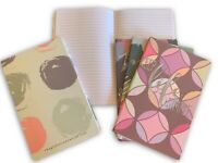 6-Pack A5 Mini-Journal Notebooks