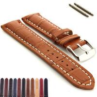 Men's Matte Leather Watch Strap Buckle Wristwatch Band Belt 20/22/24/26mm HOT