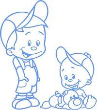 Babyaufkleber,Autoaufkleber,Namenaufkleber,Geschwisteraufkleber  GGS02