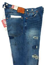 Levis Vintage Clothing LVC 1915 501 XX Selvedge Jeans Mens Size 29x31 Destroyed