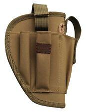 Tan Right Handed Gun Belt Holster w/ Clip Pouch BB Airsoft Pistol Handgun 200TR