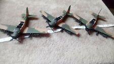 DOUGLAS A-1E SKYRAIDER x 3 LOT C 1/72 SCALE?  BUILT SPARES OR REPAIR