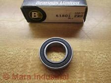 Bearings Limited 61801-2RS Bearing 618012RS