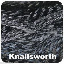 2 X King Cole Cotswold Chunky Acrylic Wool Yarn Burford 2372 Knailsworth 2375