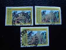 COTE D IVOIRE - timbre yvert/tellier n° 783 x3 obl (A28) stamp