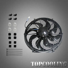 16'' 180W Electric Radiator Cooling Thermo Fan +  Mounting Kit