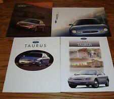 1996 1997 1998 1999 Ford Taurus Sales Brochure Lot of 4 96 97 98 99