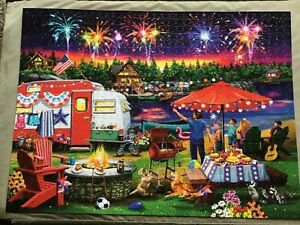 BUFFALO COUNTRY LIFE 1000 PIECE JIGSAW - FOURTH BY THE LAKE