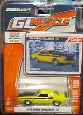 Green Light GLMuscle *Series 12* 1970 Dodge Challenger T/A Banana