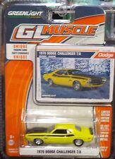 Green Light GLMuscle *Series 12* 1970 Dodge Challenger T/A Banana