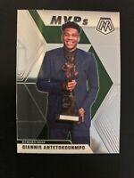 2019-20 Mosaic Giannis Antetokounmpo MVP's Milwaukee Bucks !!