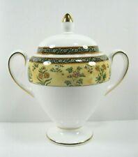 New ListingWedgwood India Covered Sugar Bowl Globe Shape floral