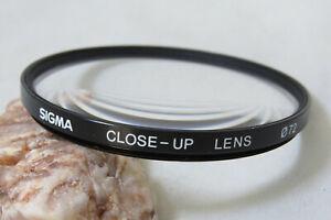 72mm Sigma Close-Up Lens Filter (A)