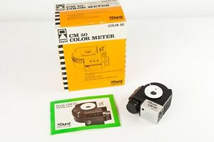 Durst CM50 Color Meter - Colour Analyser / Exposure Meter.  Boxed.  No Mount