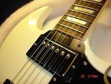 Gibson SG Guitar Tenon Cover Plate - 2 ply Black/White