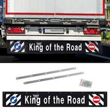 Universal LKW Schmutzfänger lang 240x35cm Anhänger Schutz Spritzlappen hinten 3D