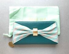 NEW! Deux Lux Teal 'Take A Bow' Wallet, Free Shipping!