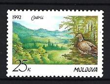 Moldavie 1992 protection de la forêt Yvert n° 4 neuf ** 1er choix
