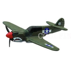P-40 Warhawk Diecast 1:160 World War II Fighter Plane New-Ray Military Mission