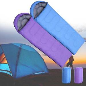 Outdoor Camping Mumien 2m Schlafsack Mumienschlafsack Zelt Camping Outdoor New