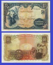 Portugal 50 escudos 1922  UNC - Reproduction