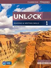 Unlock Level 1 Reading and Writing Skills Student's Book and Online Workbook (Ca