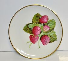 Vintage Heinrich Selb Bavaria  Decorative Plate~ Strawberry Design